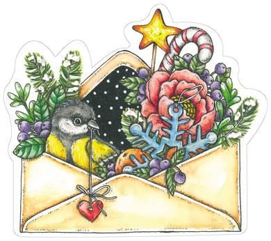 Зима в конверте