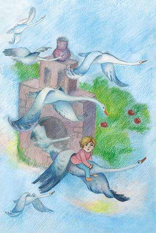 Гуси лебеди. Мир русских сказок