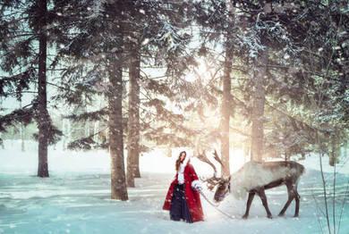 Герда и северный олень