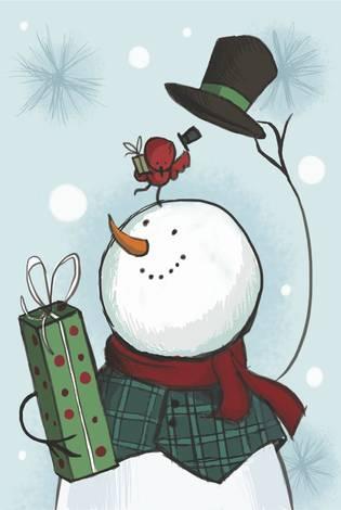 Вежливый снеговик